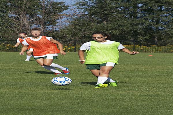 The Women's soccer team entered a tournament in Europe, where they spent eight of the final days for summer preparing for the fall 2013 season. (Photo by: Anthony Viola)