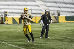 Freshman Shaye Brown will return to the NMU quarterback position. (Anthony Viola/NW)
