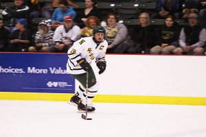 Florek, a Marquette native who played for NMU from 2008-11, scored 53 goals with 63 assists, earning 116 points in 157 games for the Wildcats. (NW file photo)